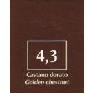 FM Natürliche Coloration Kastanienbraun golden 4,3