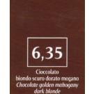 FM Natürliche Coloration Schokobraun 6,35 dunkelblond mahagoni golden