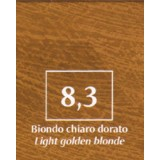 FM Natürliche Coloration Blond hell golden 8,3