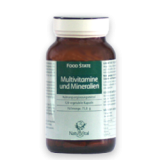 Multivitamine und Mineralien 1100mg FOOD STATE V2, 120 VegeTabs