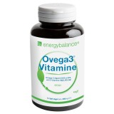 Ovega3® Vitamine, Algenöl DHA & EPA 250mg + B12, D3, K2, 60 VegeCaps