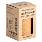 BioVitamin® rundum natürlich, plastikfreies und bio-zertifiziertes Multivitaminpräparat zum Nachfüllen 500mg, 60 VegeCaps