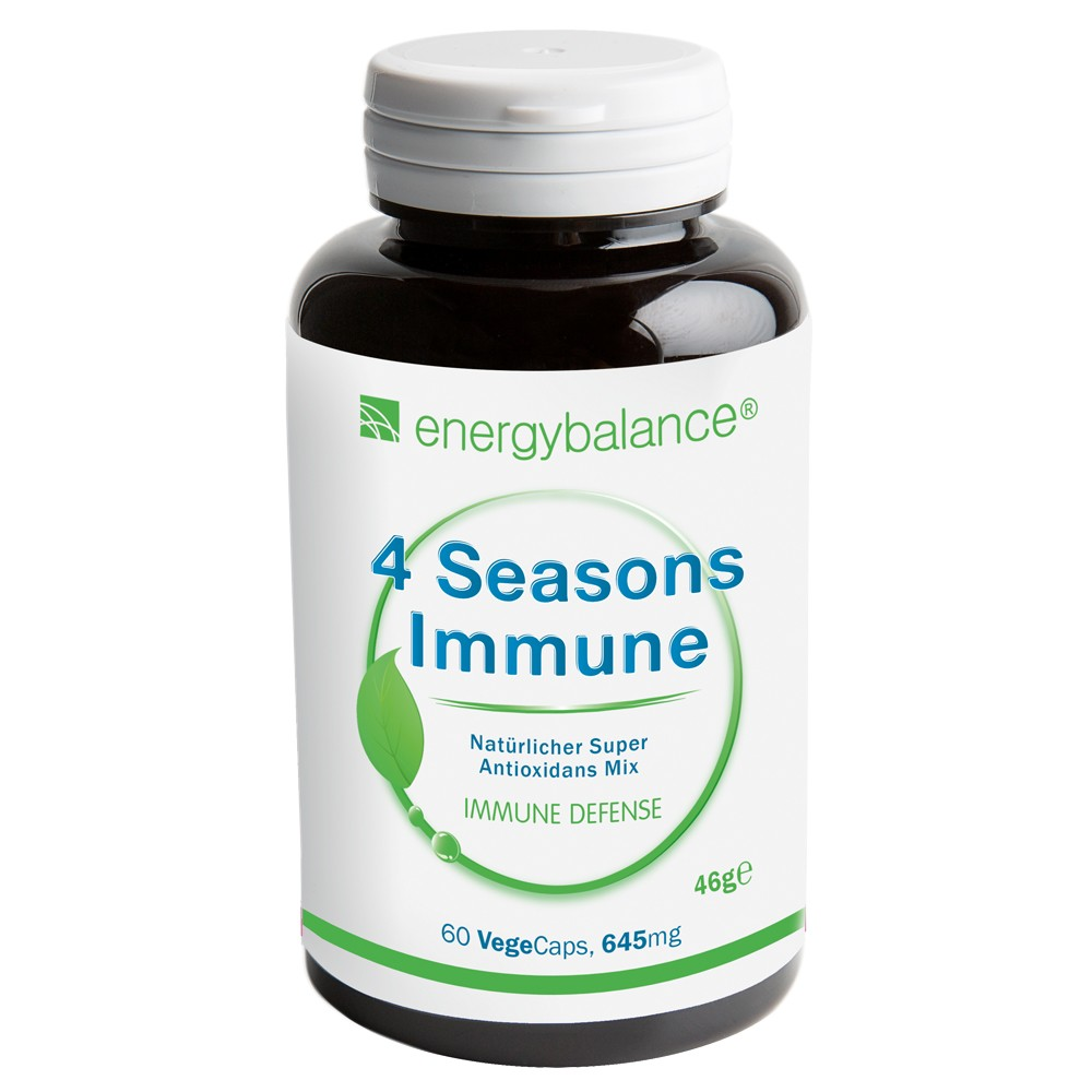 4 Seasons Immune 645mg, 60 VegeCaps
