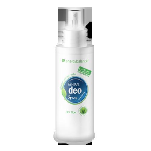 Deodorant  EnergyBalance Crystal Spray, fragrance-free, organic aloe 100ml
