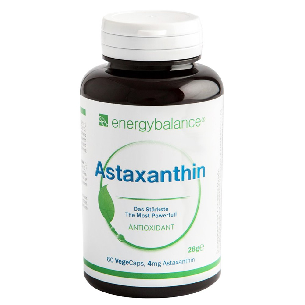 Astaxanthin Natural Antioxidant 4mg, 60 VegeCaps