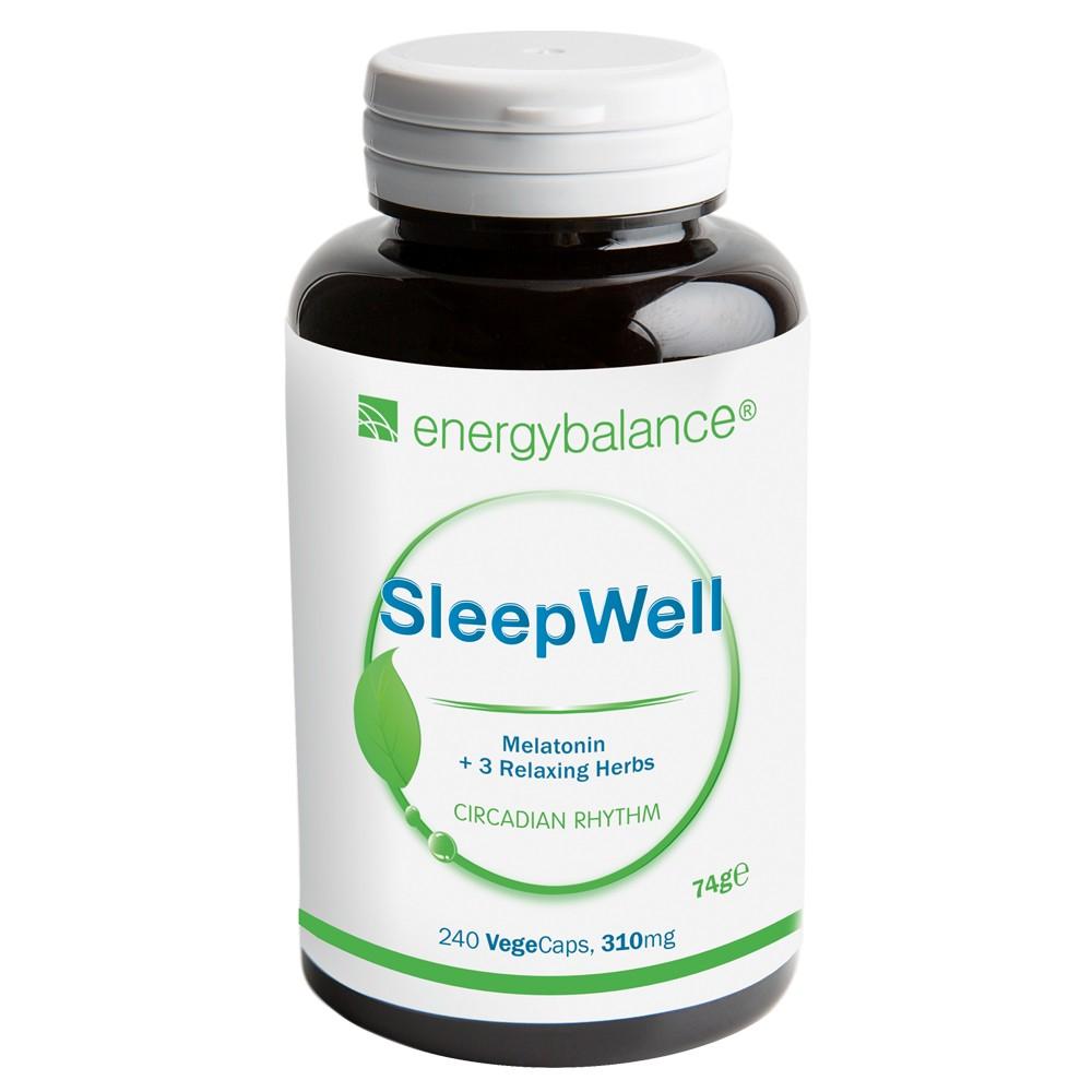 Melatonin SleepWell +3 Relaxing Herbs, 240 VegeCaps