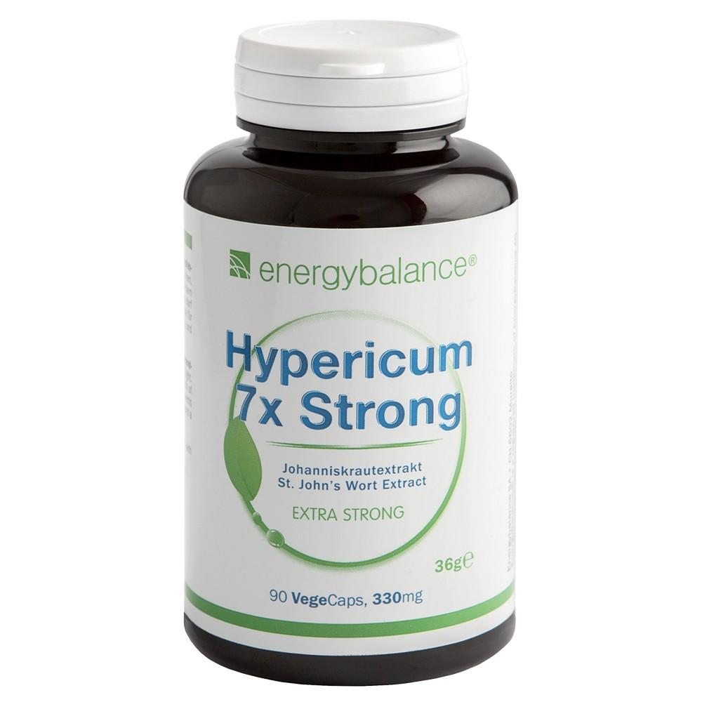 Hypericum 7x Strong St. John's Wort Extract 330mg, 90 VegeCaps