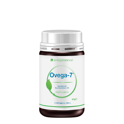 Ovega7 sea buckthorn oil 500mg, 60 Soft VegeCaps