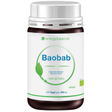 Baobab Organic Fruit Powder 460mg, 180 VegeCaps