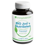 BIO Jod + NutriSelen with BIO Organic Barley Grass Thyroid, 120 VegeCaps