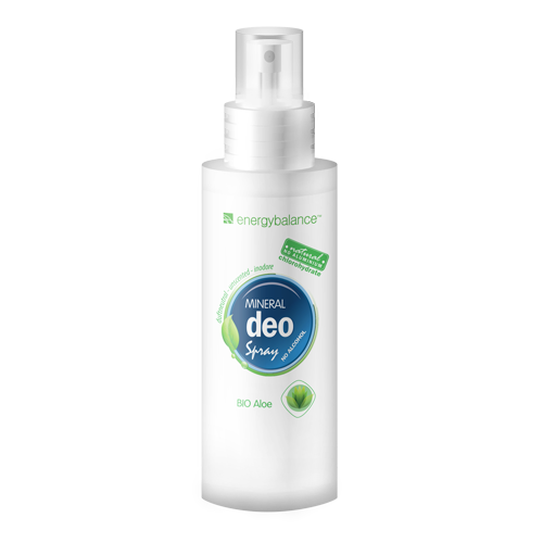 Deodorant  EnergyBalance Crystal Spray, fragrance-free, organic aloe 100ml