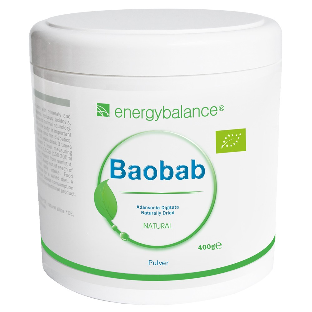 Baobab Organic Fruit Powder, 400g