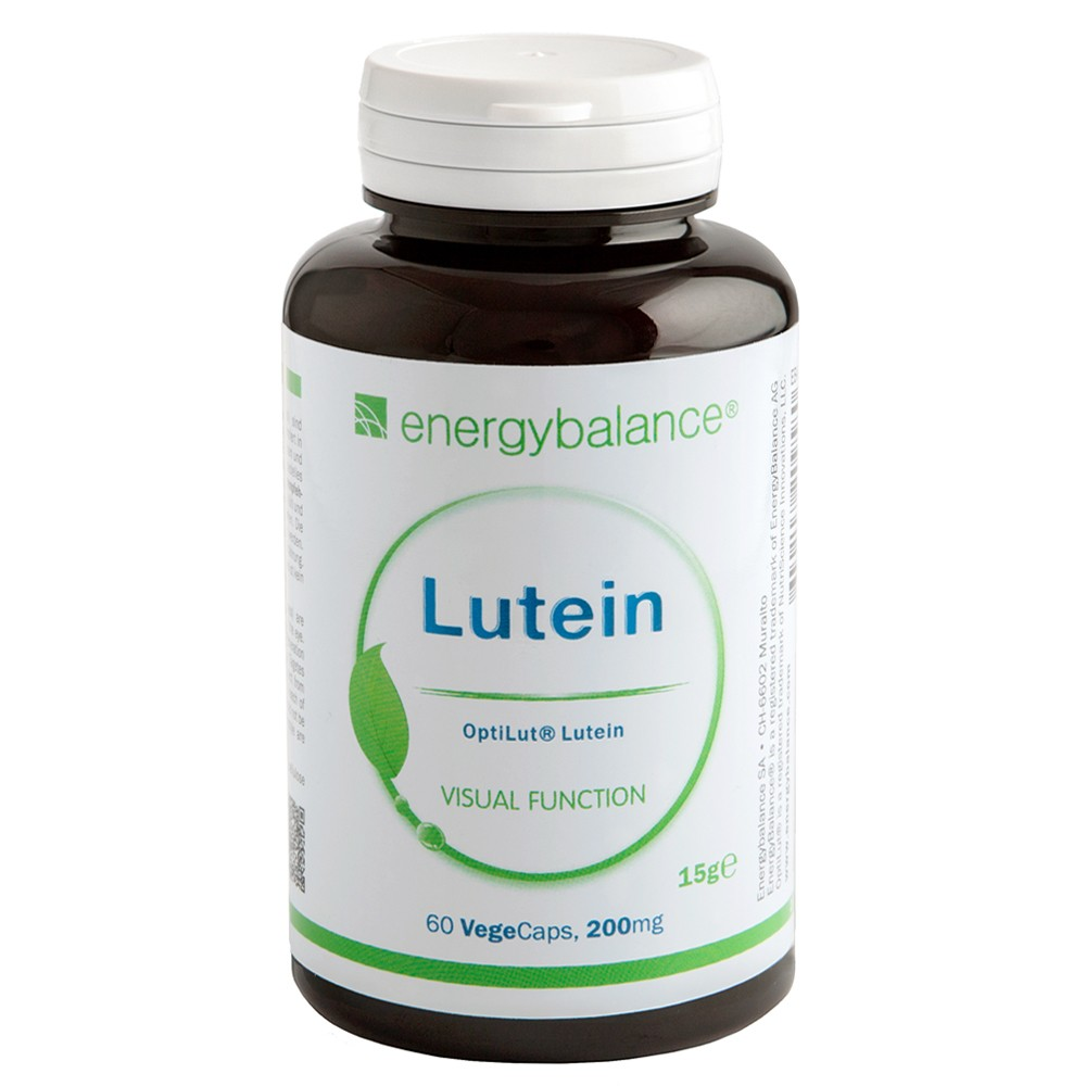 Lutein OptiLut + zeaxanthin for the eyes 200mg, 60 VegeCaps