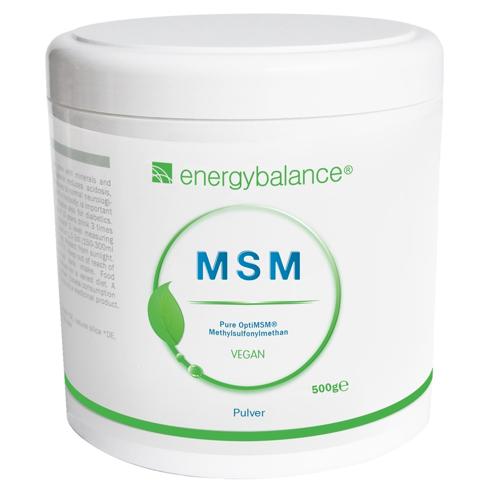 MSM OptiMSM pure powder 500g