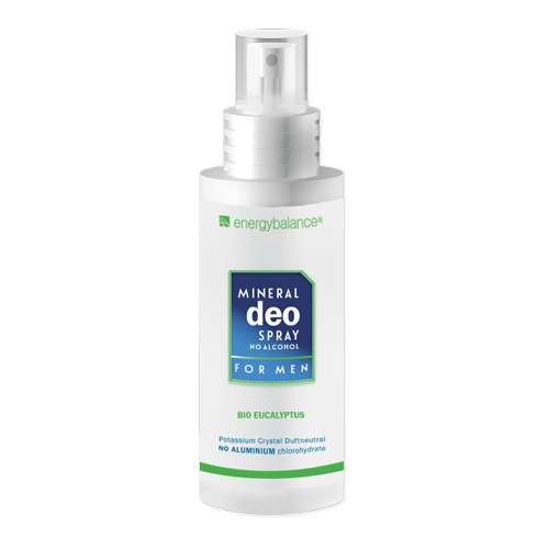 Deo EnergyBalance Crystal Spray for Men Organic Eucalyptus 100ml