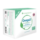 Ovega3 360 fish oil capsules containing 3 natural antioxidants, astaxanthin, Q10 + vitamin C